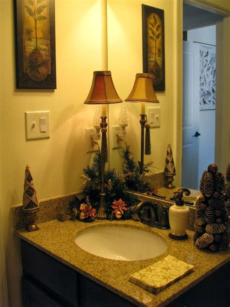 decorating the bathroom for christmas 27 best images about decorating the bathrooms for