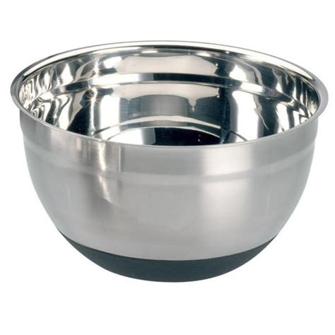 Stainless Bowl Mangkok Stainless 20cm Vavinci stainless steel mixing bowl 20 cm 24cm bakingwarehouse