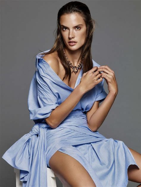 Alessandra Ambrosio by Alessandra Ambrosio In Magazine January 2016