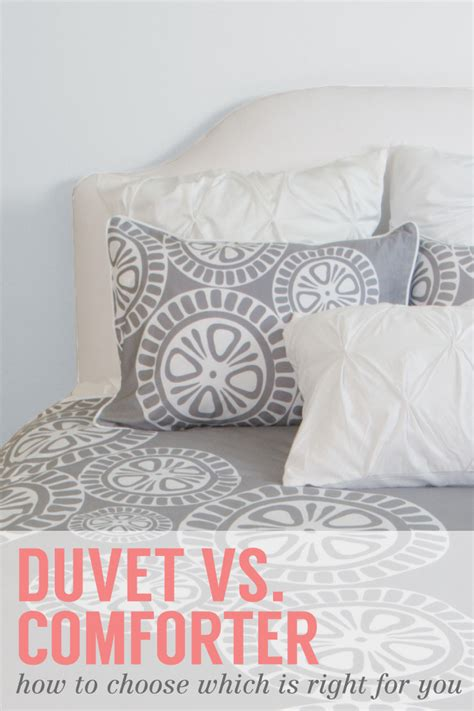 duvet vs comforter what is a duvet cover bedding how