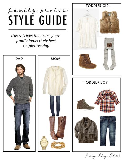 Wardrobe Planning Guide by What To Wear For Family Pictures 187 Collier
