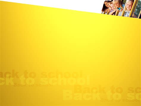 templates for powerpoint school kids in school bus backgrounds presnetation ppt