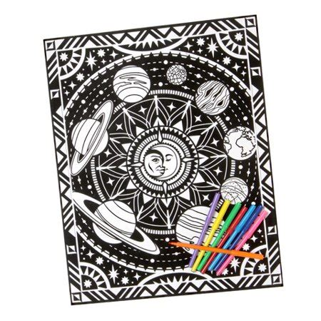 velvet coloring posters velvet coloring poster celestial 16 x 20 inches