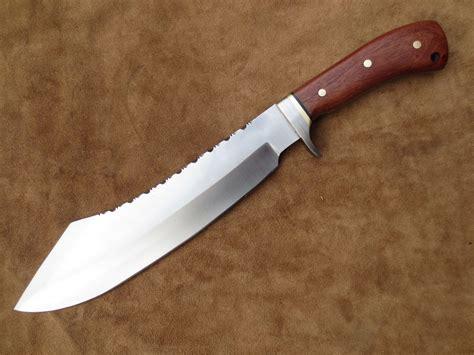 Handmade High - 5160 high carbon steel tang handmade bowie