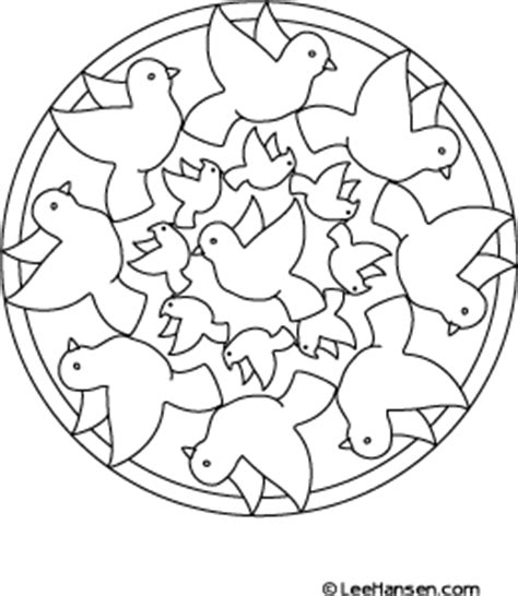 bird mandala coloring pages flying birds coloring page nature printables