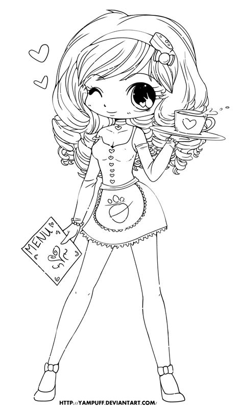 deviantart coloring pages chloe lineart by yampuff on deviantart digi sts