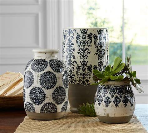 decorating pottery lilian vase pottery barn
