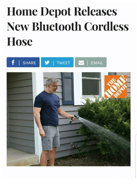 home depot releases new bluetooth cordless hose y