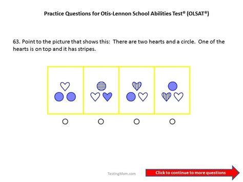 Pin On Olsat 174 Test Otis Lennon School Ability Test 174 Free