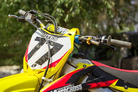 pro motocross bikes product report pro taper evo handlebars