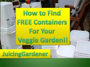 Container Vegetable Gardening For Beginners - container garden ideas how to find free containers for your vegetable garden youtube