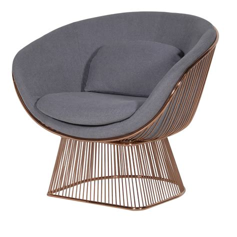 Wire Armchair by Gold Wire Armchair By Out There Interiors