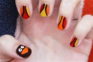 cute and easy thanksgiving nail designs top 10 diy gobbler nail art to gobble up top inspired