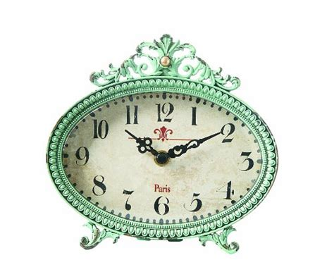 Small Decorative Desk Clocks Clock Desk Shelf Table Pewter Retro Vintage Style Small Decor Ebay