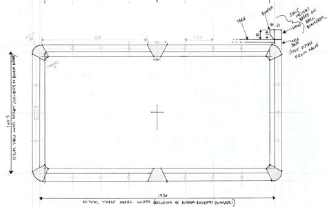 pool plans free pool table blueprints plans diy free download jewelry box