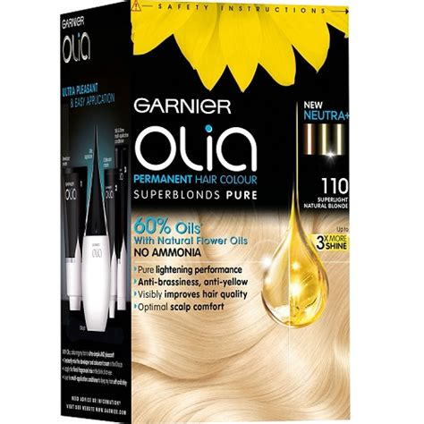 garnier olia hair color garnier olia hair color 110 superlight ash