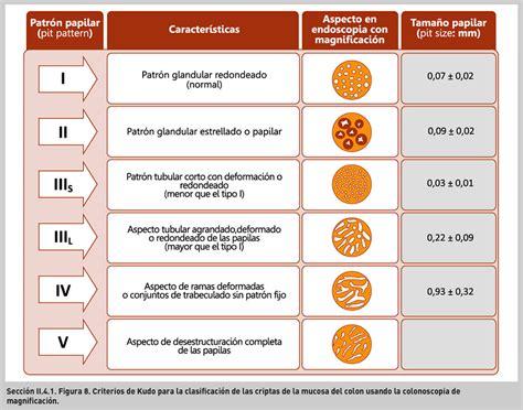 pit pattern classification kudo cromoendoscopia