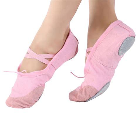 Sepatu Balet Canvas ballet gymnastics shoes soft canvas