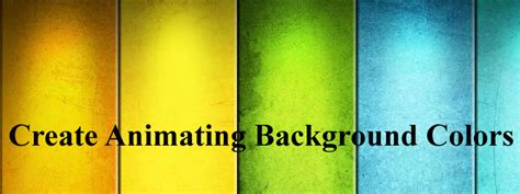 jquery animate color create stunning animating background colors using jquery