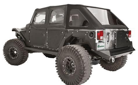 Jeep Wrangler Jk Fenders Fab Fours Jk1001 1 Rear Fenders For 07 17 Jeep Wrangler