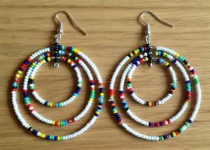 maasai handmade africa ethnic jewelry beaded multi color