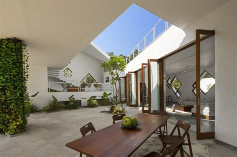 courtyard homes tomoe villas a different interpretation of traditional