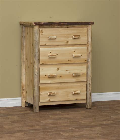 white cedar log furniture white cedar chests beds  tables