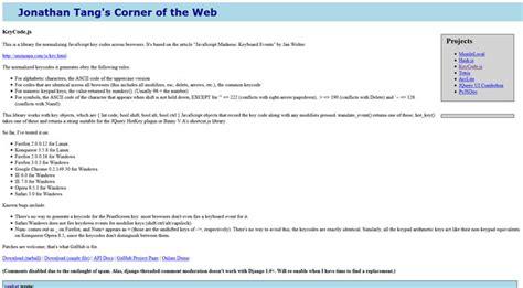 javascript keycode tutorial design resource box web design