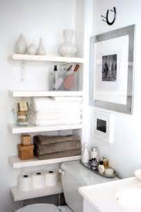 Small Bathroom Shelves Ideas by 73 Practical Bathroom Storage Ideas Digsdigs
