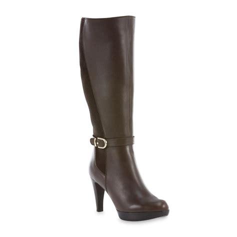 carlo rossetti s marcela brown knee high boot