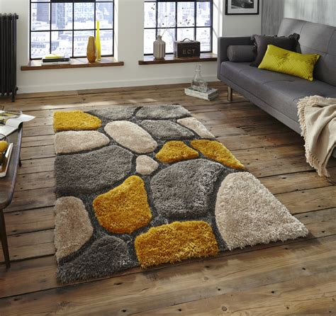rugs for house noble house tufted shaggy pile floor rug soft pebble style home decor ebay