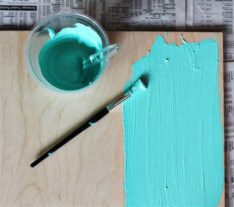 diy chalk paint mixture how to mix chalkboard paint in any color a beautiful mess