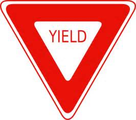 yield sign color yield sign clip at clker vector clip