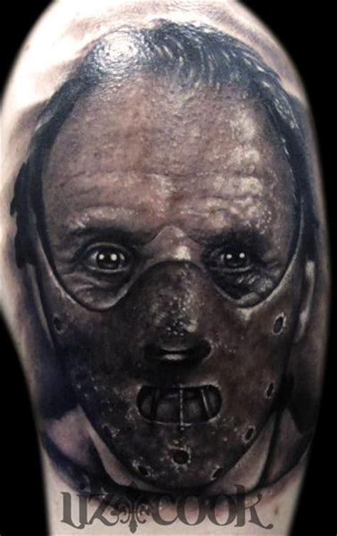 hannibal tattoo hannibal lecter by liz cook tattoonow
