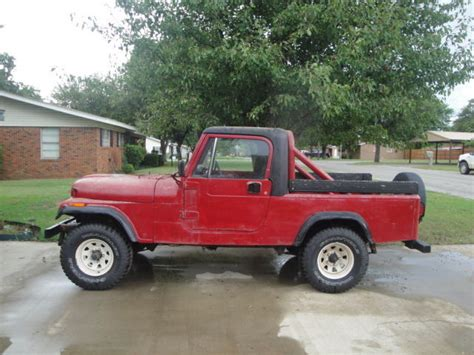 1984 Amc Jeep Cj8 Cj 8 Scrambler Project