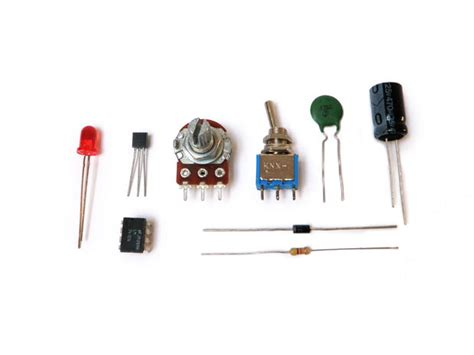 electronics parts resistors basic electronics make it your library