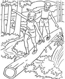 nature coloring pages free printable nature coloring pages for best
