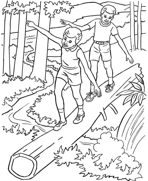 coloring book pages nature free printable nature coloring pages for best