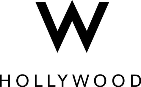Hollywood for the Holidays by Hollywood Chamber of Commerce W Hotels Logo