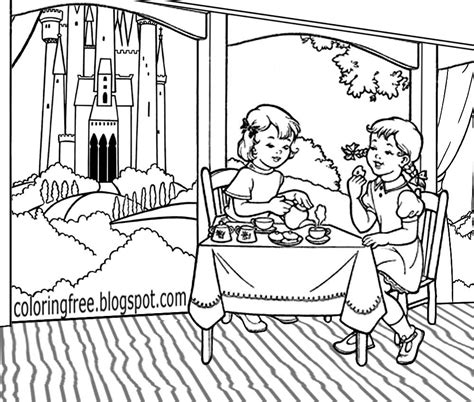 garden party coloring pages free coloring pages printable pictures to color kids and