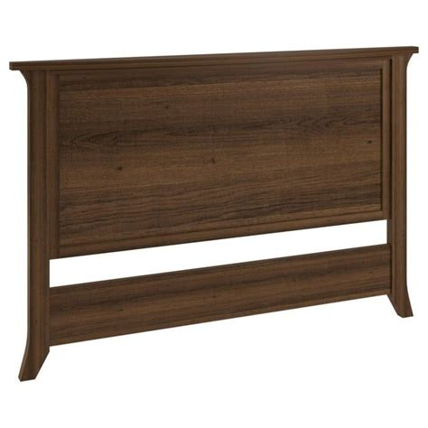 Wood Panel Headboard Altra Oakridge Wood Panel Headboard In Homestead Oak