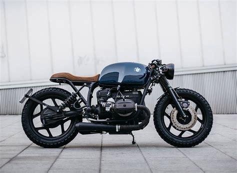 roa motorcycles presente sa bmw  custom cafe racer