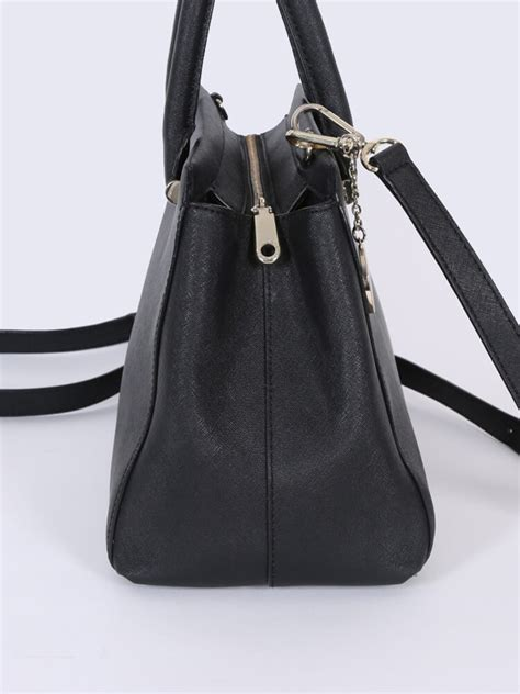 Small Black Leather by Dkny Saffiano Leather Small Tote Bag Black Luxury Bags