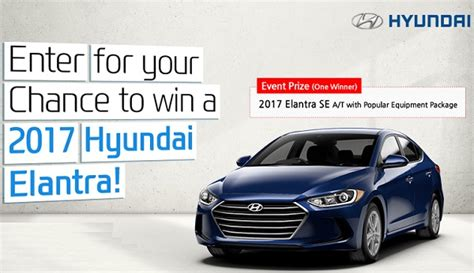Sweepstakes Submission Sites - hyundai true elantra giveaway sweepstakes sweepstakesbible