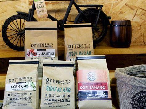 kantung kemasan biji kopi  ramah lingkungan majalah otten coffee