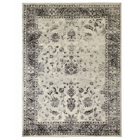rugs home decorators home decorators collection old treasures gray 9 ft 3 in