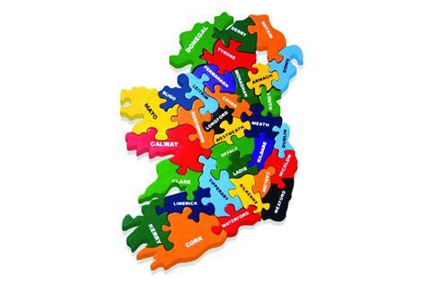 Handmade In Ireland - ireland handmade wooden puzzle jigsaw maps