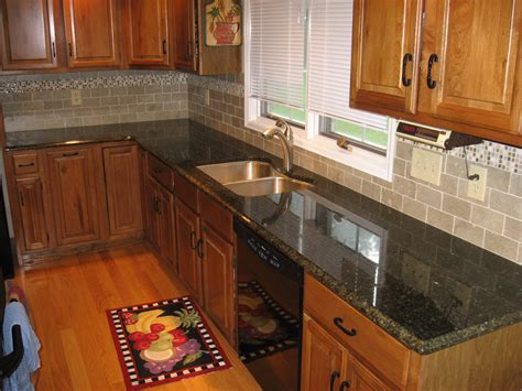 granite kitchen countertop ideas granite countertops with tile backsplash zyouhoukan net