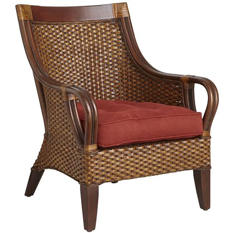 Seat Cushions For Dining Room Chairs by Temani Brown Wicker Chair Pier 1 Imports