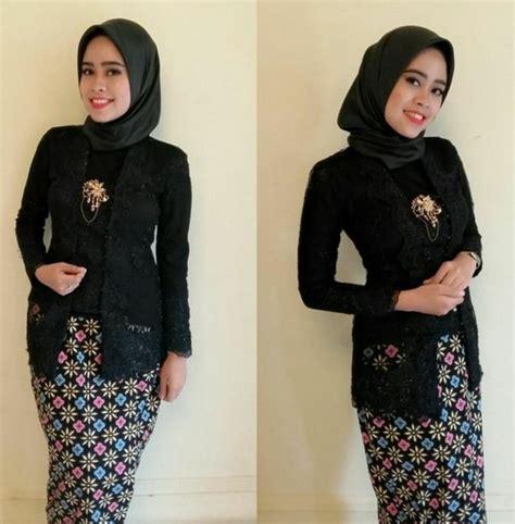 Batik Modern Hitam Kebaya 11 kebaya hitam modern untuk wisuda inspirasi pernikahan
